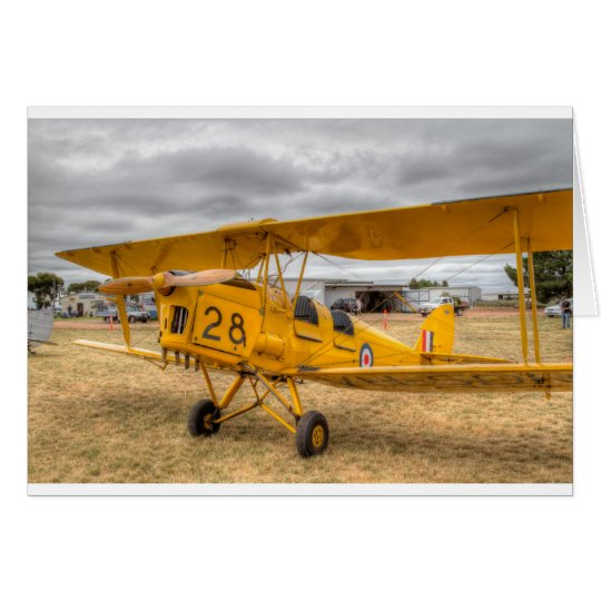 Tiger Moth 80Th Anniversary Fly-in Card
