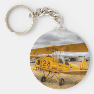 Tiger Moth 80Th Anniversary Fly-in Keychain