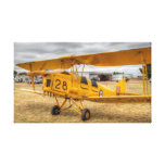 Tiger Moth Fly-in Leeton NSW Gallery Wrapped Canvas