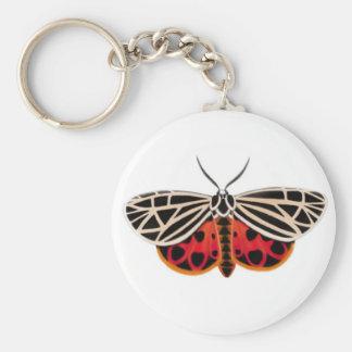 Tiger Moth Keychain