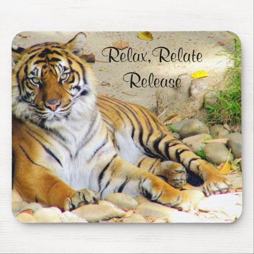 Tiger_ Mouse Pad