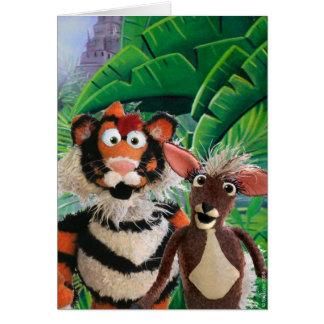 Tiger & Mousedeer Card