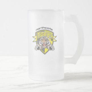 Tiger mug2.ai frosted glass beer mug