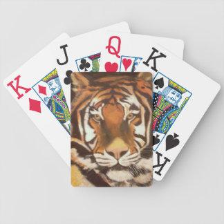 TIGER MUGSY BICYCLE PLAYING CARDS