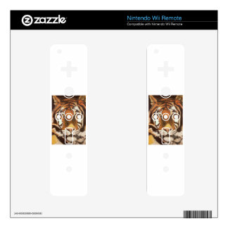 TIGER MUGSY WII REMOTE DECAL