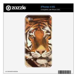 TIGER MUGSY SKINS FOR THE iPhone 4S