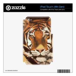 TIGER MUGSY DECALS FOR iPod TOUCH 4G