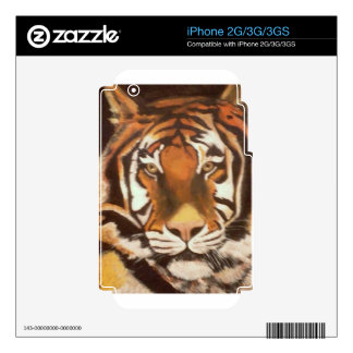 TIGER MUGSY SKINS FOR THE iPhone 3G