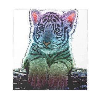 tiger multi colors memo note pads