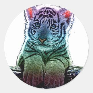 tiger multi colors