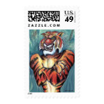 Tiger Muscle Postage