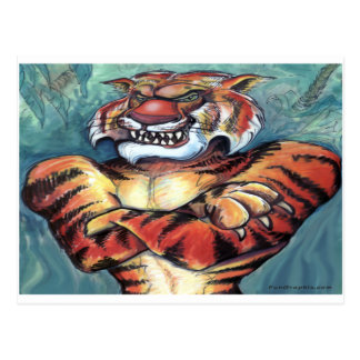 Tiger Muscle Postcard