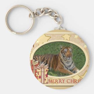Tiger Nini-c-148 copy Basic Round Button Keychain