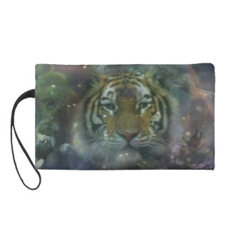 Tiger - Not Just Another Kitty Cat Wristlet Purses
