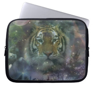 Tiger - Not Just Another Kitty Cat Laptop Computer Sleeves