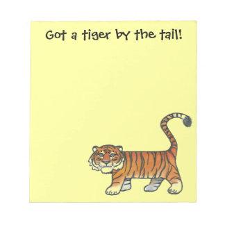 Tiger Note Pad
