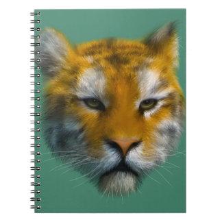 Tiger Spiral Notebooks