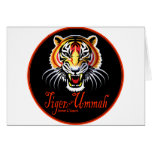 Tiger of the Ummah Greeting Card