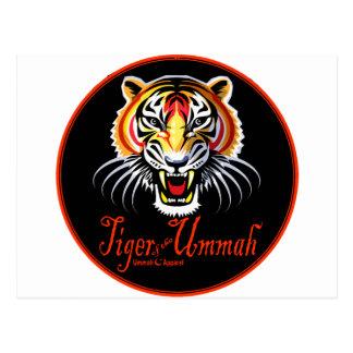 Tiger of the Ummah Postcard