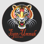 Tiger of the Ummah Round Sticker