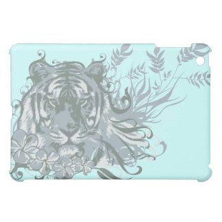 Tiger on Blue iPad Mini Cases