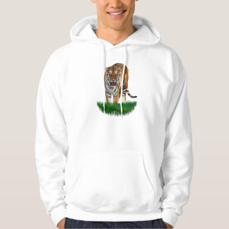 Tiger on Green Sweatshirt