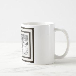 Tiger on sulks by vishnuh coffee mug