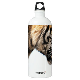Tiger on the hunt aluminum water bottle