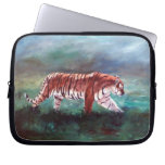 Tiger On the Prowl Laptop Sleeve