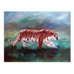 Tiger On the Prowl Postcard