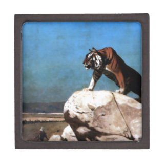 Tiger on the Watch by Jean-Leon Gerome Gift Box