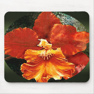 Tiger Orchid Mouse Pad