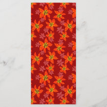 Tiger orchids pattern