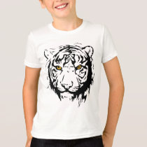 Tiger Outline T-Shirt