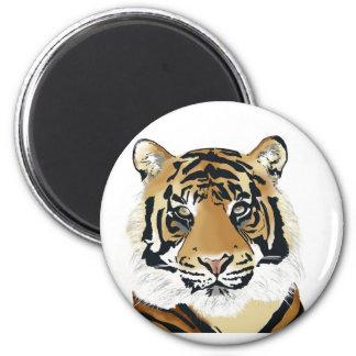 tiger paint imán de frigorífico