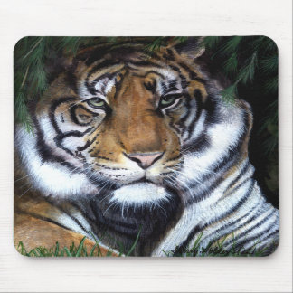 Tiger Painting  Mousepad