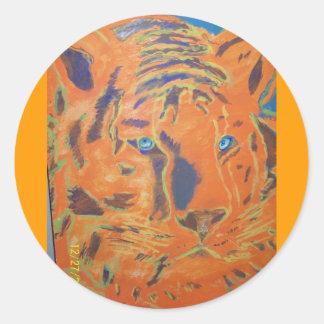 Tiger Painting  Sticker