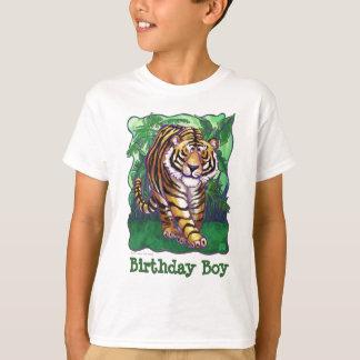 Tiger Party Center Birthday Boy T-Shirt