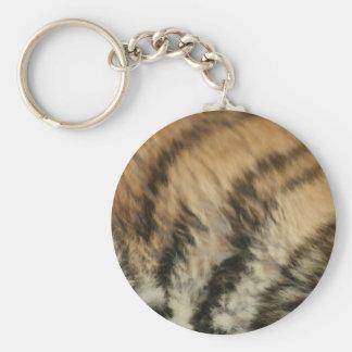 Tiger pattern keychains