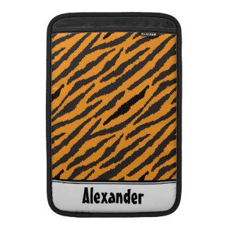 Tiger Pattern MacBook Sleeve