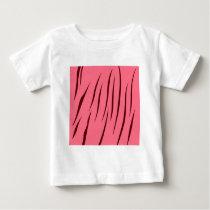 Tiger pattern pink baby T-Shirt