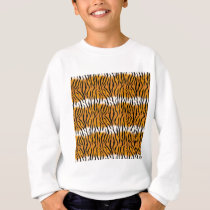 Tiger Pattern Sweatshirt