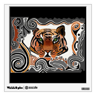 Tiger Pattern Wall Decal