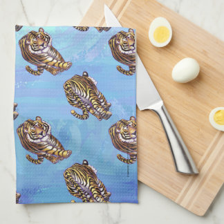 Tiger Patterns Hand Towel