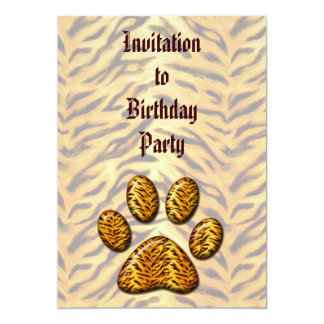 Tiger Paw #1 Card