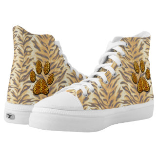 Tiger Paw #1 High-Top Sneakers