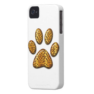 Tiger Paw #1 iPhone 4 Cover