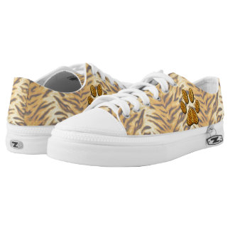 Tiger Paw #1 Low-Top Sneakers