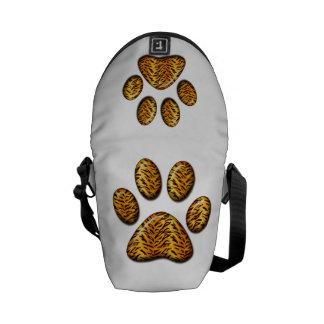 Tiger Paw #1 Messenger Bag