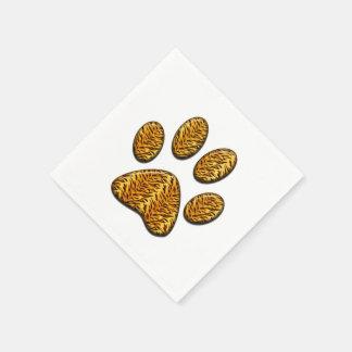Tiger Paw #1 Napkin